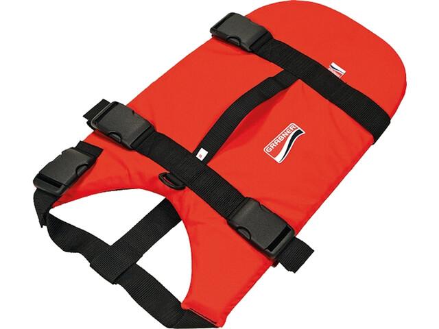 Grabner Cat+Dog Life Jacket S, rojo/negro